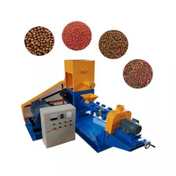 Floating Fish Food Pellet Processing Making Extruder Price Fish Feed Machine