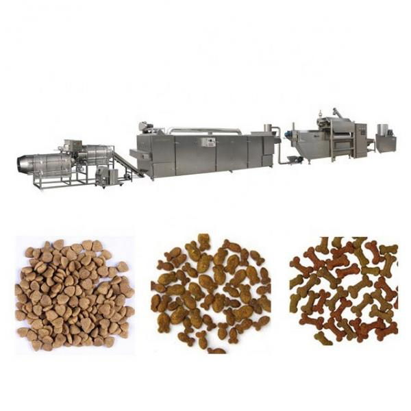 Automatic Pet Dog Floating Fish Feed Pellet Extruder Food Machine