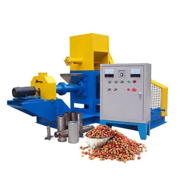 Manufacturer Floating Fish Feed Pellet Extruder Pellet Press Machine