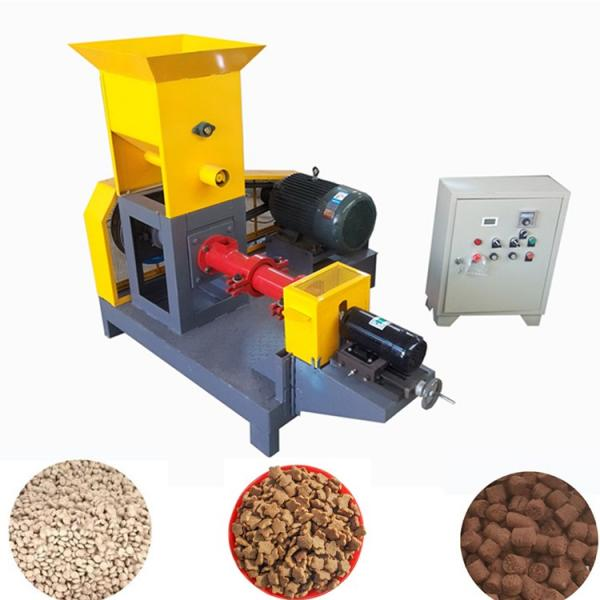 Energy Saving Dry Floating Aqua Fish Feed Pellet Mill Extruder Ornamental Fish Food Extruder Production Machine