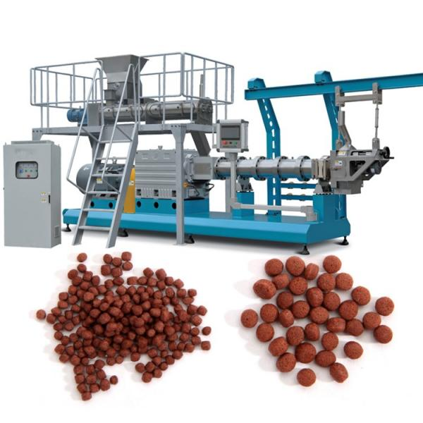 Fish Food Processing Line Machine, Dog Shape Pet Food Extruder as Extrusion Pellet Machine, One of Main Fish Farm Feed Equipment