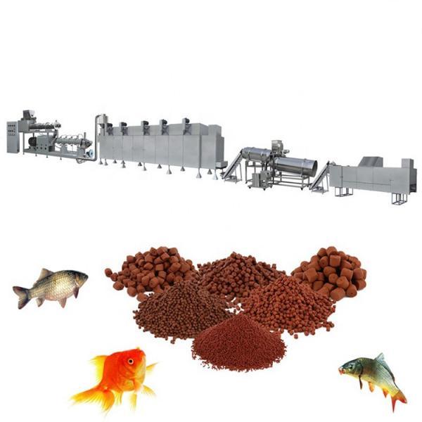 Pet Fish Dog Cat Food Pellet Extruder Making Machine