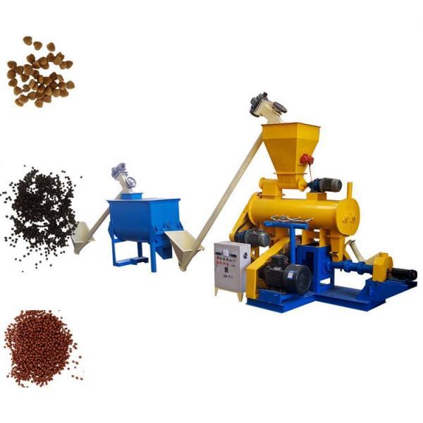 Fish Food Extruder, Floating Pellet Machine, Animal Feed Pellet