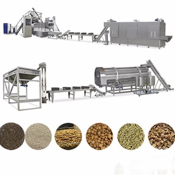 Floating Fish Pet Dog Food Pellet Processing Line Extruder