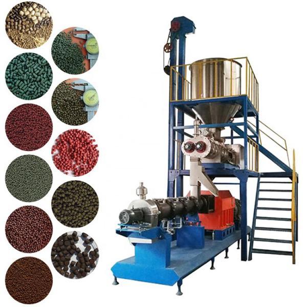 Wet Process Floating Aqua Fish Feed Pellet Mill Extruder Ornamental Fish Food Extruder Production Machine