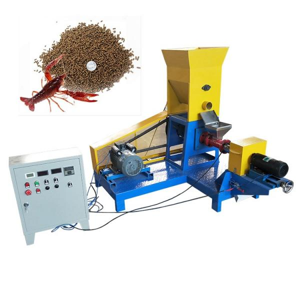 Fish Feed Pellet Machine Cattle Feed Production Process Machine